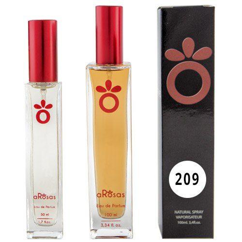 Perfume Equivalencia aRosas 209