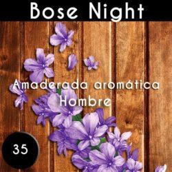 Perfume Bose nocturno